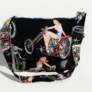 Biker Pin-Ups Large Messenger Purse w/adjustable handles