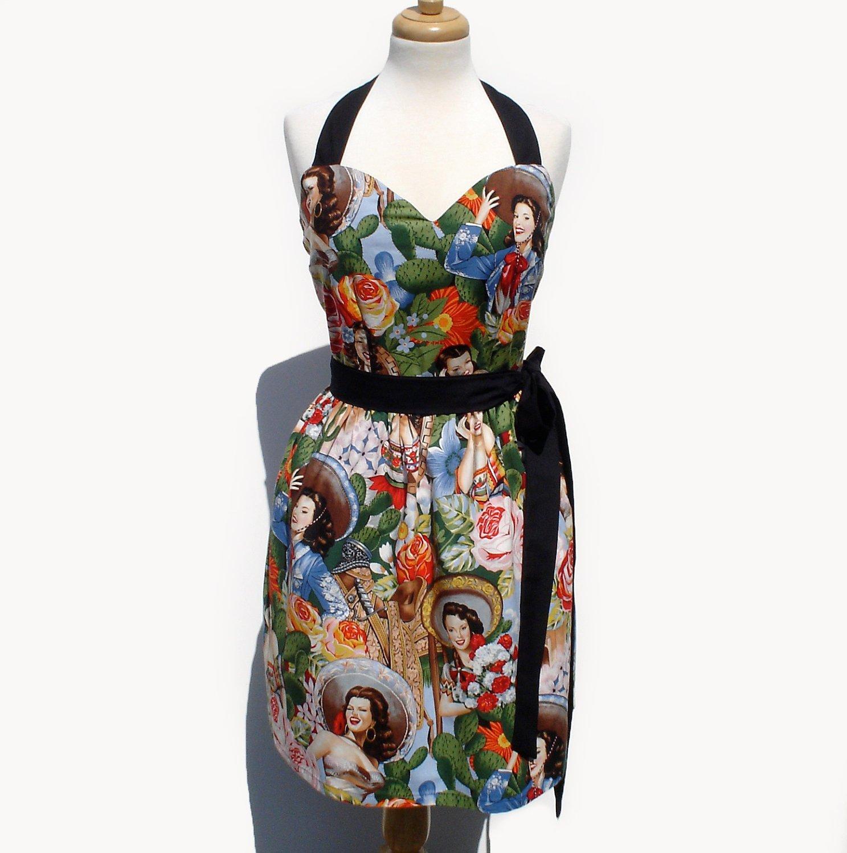 Sweetheart Senoritas Rockabilly Full Dress