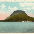 Color Postcard  Thunder Cape near Fort William Ontario Canada