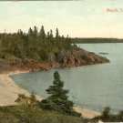 Color Postcard  Beach Lake Superior Ontario Canada