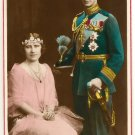 Color Postcard Their Majesties  King George V1and Queen Elizabeth