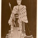 Postcard An Impression 0f H.M. King George V1 in Coronation Robes