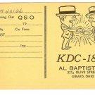 Radio Communication Card KDC 1837