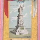 Color  Postcard  Monument Laval  Quebec Ter-Centenary 1608 -1908 Quebec, Canada