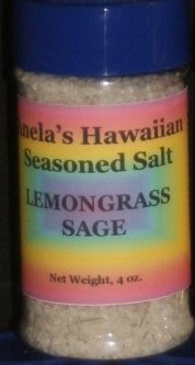 Lemongrass Sage Hawaiian Seasoned Salt, 4 oz.