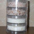 Asian Salt Pillar - collection of 4 seasoned salts