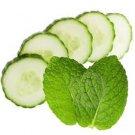 Cucumber Mint Scented Kona Coffee Exfoliating Face Scrub