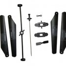 UJ722 Apache 63 Gyroscope 3 Channel RC Helicopter (Large) - Blade Set