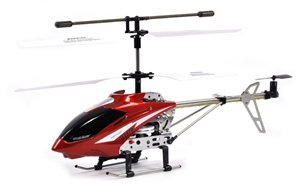 UJ378 New Edition RC Helicopter 3.5 Channel Gyroscope (Medium)(Red)