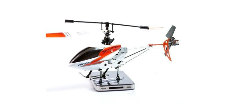 """Double Horse 9103 Mini 3 Channel 10"""" RC Helicopter w/ Gyro - Orange (Small)(DH9103_O)"""