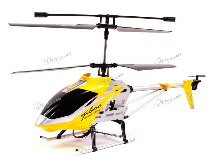"""Yiboo UJ300 3.5 CH 30"""" RC Helicopter - Yellow (Large)(UJ300_Y)"""