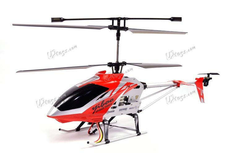 """Yiboo UJ300 3.5 CH 30"""" RC Helicopter - Red (Large)(UJ300_R)"""