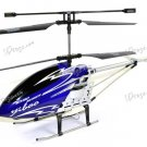 "Yiboo UJ317 Finback 3.5 Channel Flash Light 30"" RC Helicopter w/ Gyro - Blue (Large)(UJ317_B)"