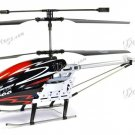 "Yiboo UJ317 Finback 3.5 Channel Flash Light 30"" RC Helicopter w/ Gyro - Black (Large)(UJ317_BL)"