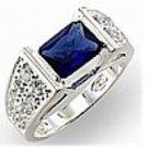 Montana Blue CZ Pave Ring