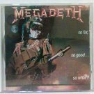 Megadeath - So Far, So Good ,So What! CD 1988 release