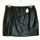 No Boundaries Skirt size 3 / 30w mini faux leather pleather women new