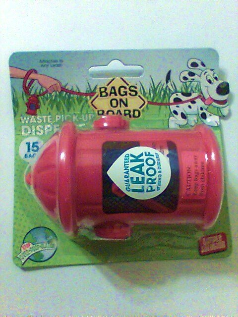 Bags on Board Pet waste pick-up dispenser 15 pack travel hydra nt dog cat disposable new