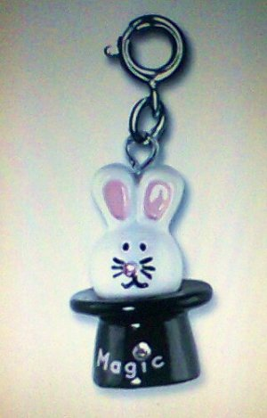 Charm It Magic Bunny contest collection rhinestone children girl new
