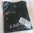 Karmaky T-shirt size XL Men Be the Good Black new