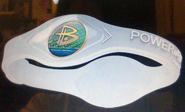 Power Balance wristband clear silicone unisex sports energy health new