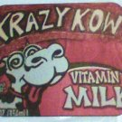 Mouse Pad Crazy Cow art Krazy Kow computer new