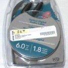 Dynex 6' ft Optical Digital Audio Cable DX-AV201