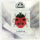 Mini Cross-stitch Kit Ladybug design size 2 x 2 inch dmc new