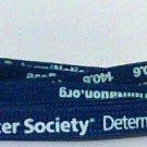 Shoelaces acsDetermiNation Amercan cancer new