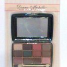 Donna Michelle Eye Shadow Kit 12 color Earth tones palette compact professional  new