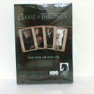 Game of Thrones playing card deck hbo dark horse toy new