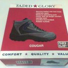 Faded Glory Cougar Hikers Boots 9.5 Men shoes new