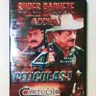 Super Paquete De Accion (4 Peliculas) DVD (Spanish) espanol