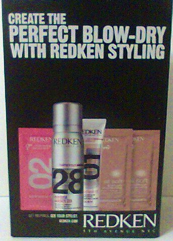 REDKEN Perfect Blow Dry Styling Kit Travel Trial new