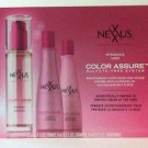 Nexxus Color Assure 3 Piece Deluxe trial travel kit new