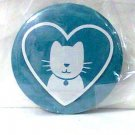 Purina Cat heart Magnet refrigerator decor blue white collectible new