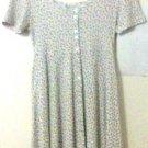 Concepts Dress size Medium floral white women collectible vintage