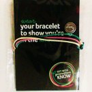 I Know charm cord Bracelet generation know collectible girl women new