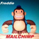 Mailchimp Classic Freddie sealed in box toy figure monkey doll logo new