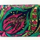 Photo Album psychedelic floral 4 x 6 retro 1969-1970 vintage