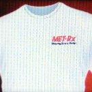 Met-Rx T-shirt size XL Men white cotton new