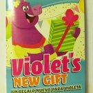 Violet's New Gift book english spanish bilingual children new