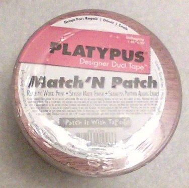 Platypus Match N Patch Mahogany Wood Grain Tape new