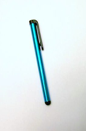 Touch Screen Pen stylus half size capacitive cell iphone tablets Blue computer new