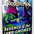 Goosebumps #19: Revenge of the Lawn Gnomes book Paperback children halloween new