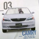 Toyota Camery 2003 model cutout promo paperboard cardboard photo new