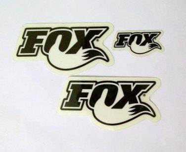 Fox Decal sticker Set new