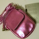 No Boundaries Bag crossbody cell phone size 4x5 pink metallic foil purse breast cancer new