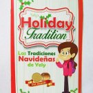Yely's Holiday Tradition book children bilingual spanish new