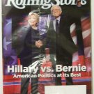 Rolling Stone Hillary vs Bernie magazine March 24 2016 #1257 new
